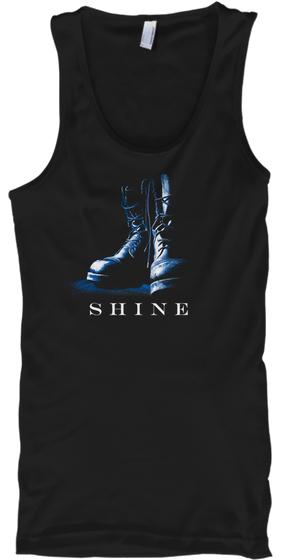 "Tank Top: Bootblack ""Shine"""